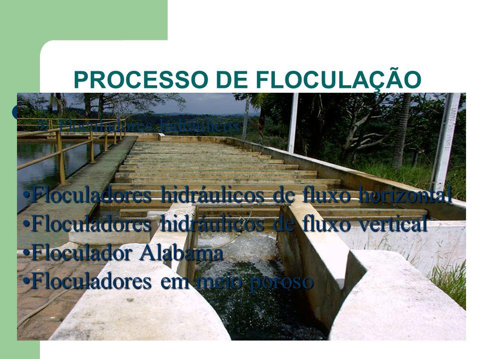 PROCESSO DE FLOCULAÇÃO