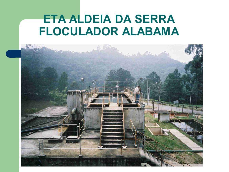 ETA ALDEIA DA SERRA FLOCULADOR ALABAMA