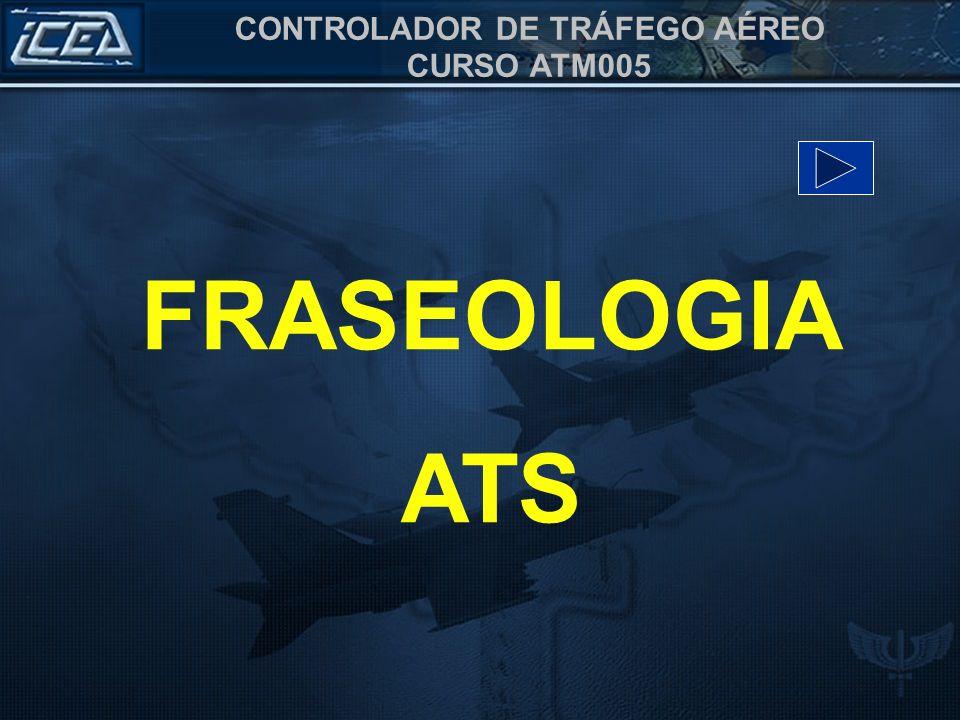 FRASEOLOGIA ATS