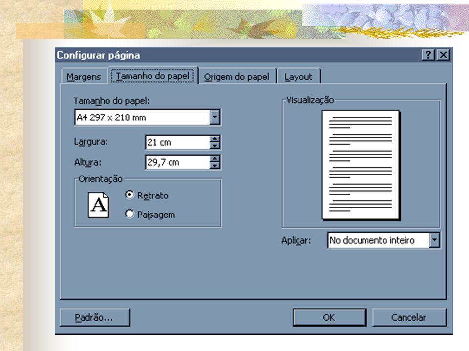 Configurar Página