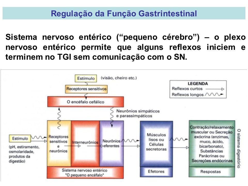 Regulação da Função Gastrintestinal