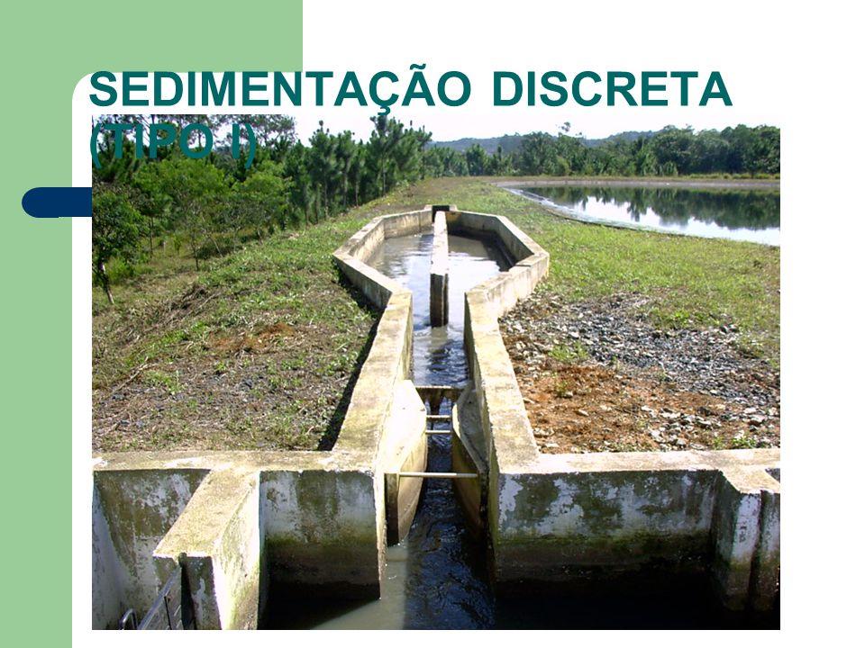 SEDIMENTAÇÃO DISCRETA (TIPO I)
