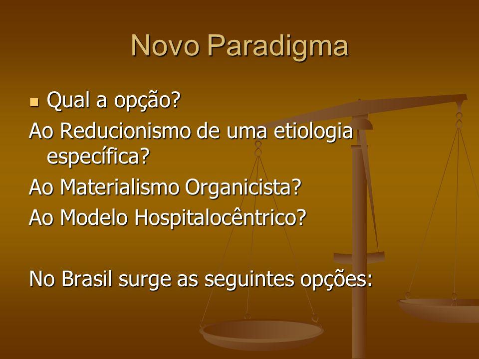 Novo Paradigma Qual a opção