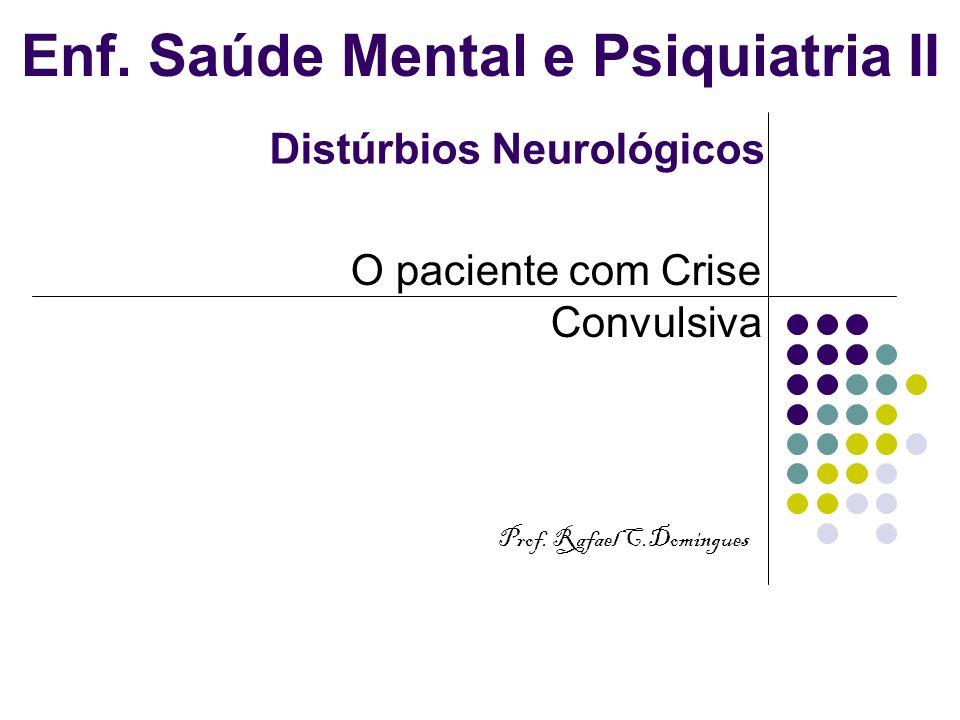 Enf. Saúde Mental e Psiquiatria II