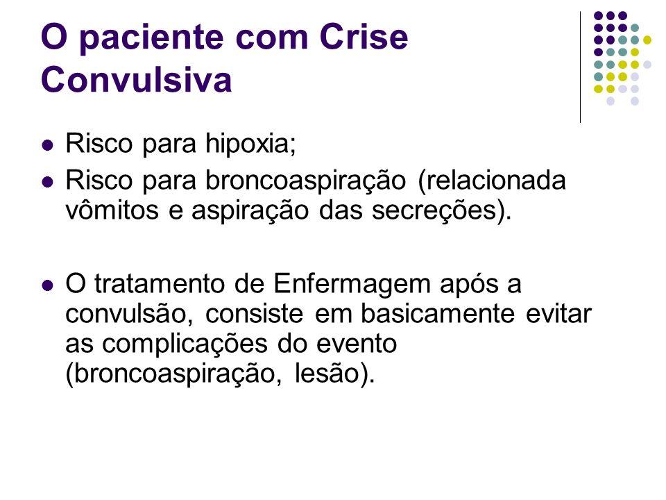 O paciente com Crise Convulsiva