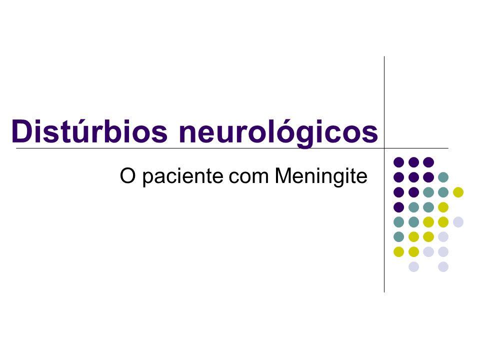Distúrbios neurológicos