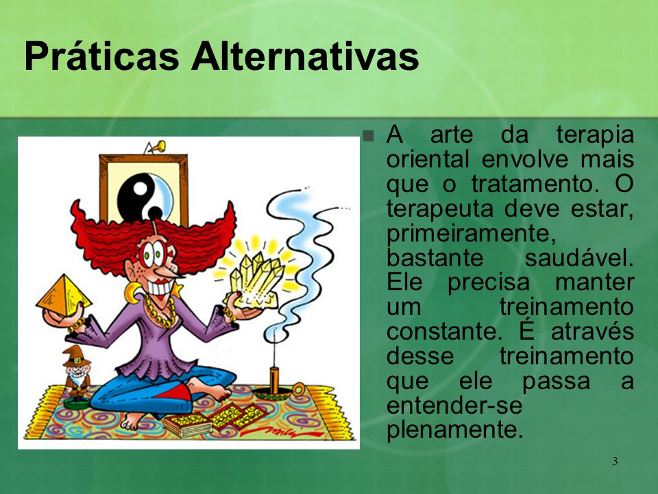 Práticas Alternativas