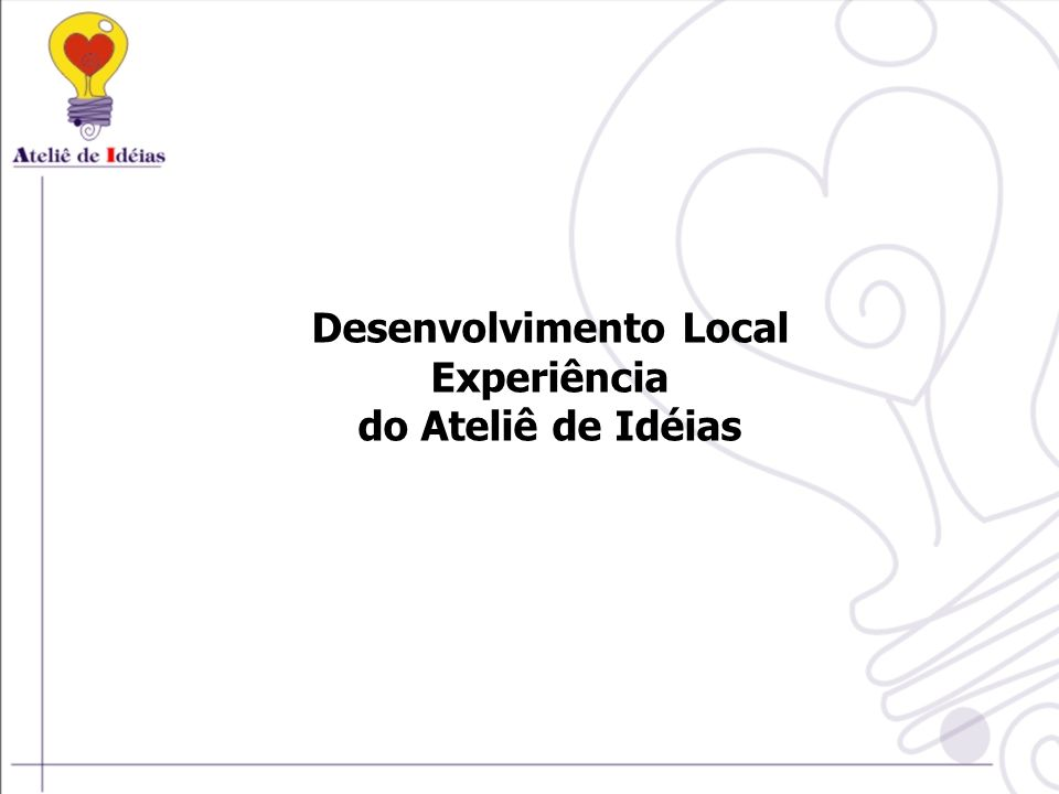 Desenvolvimento Local