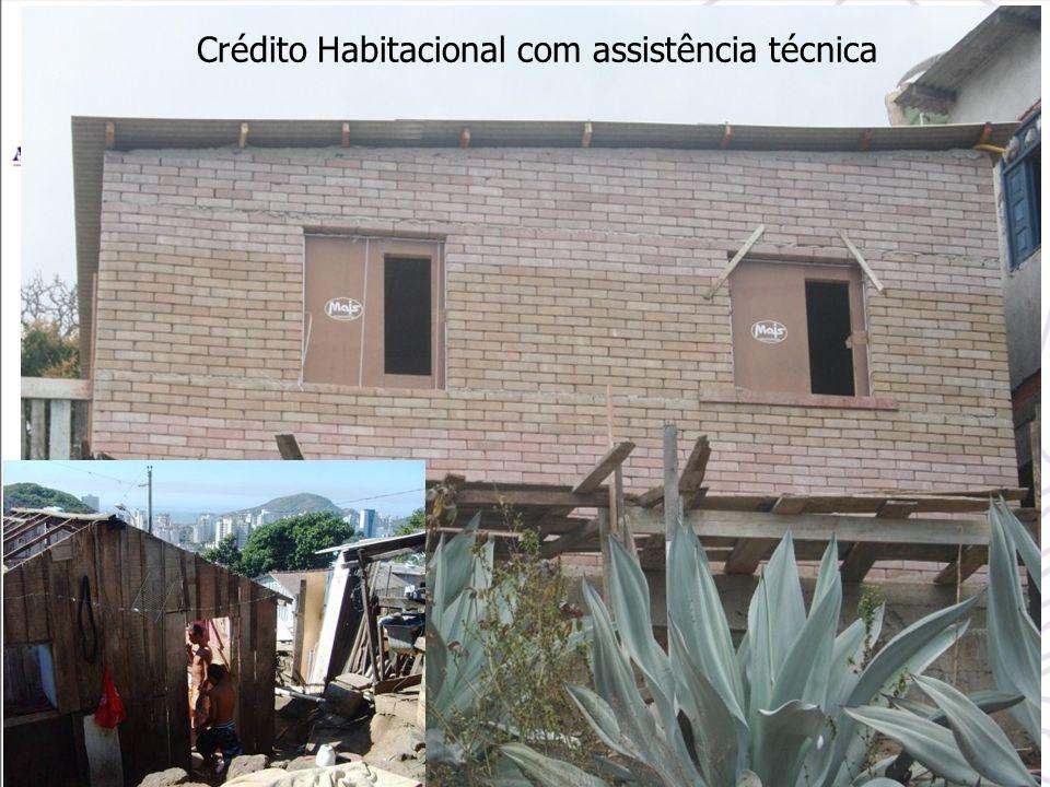 Crédito Habitacional com assistência técnica