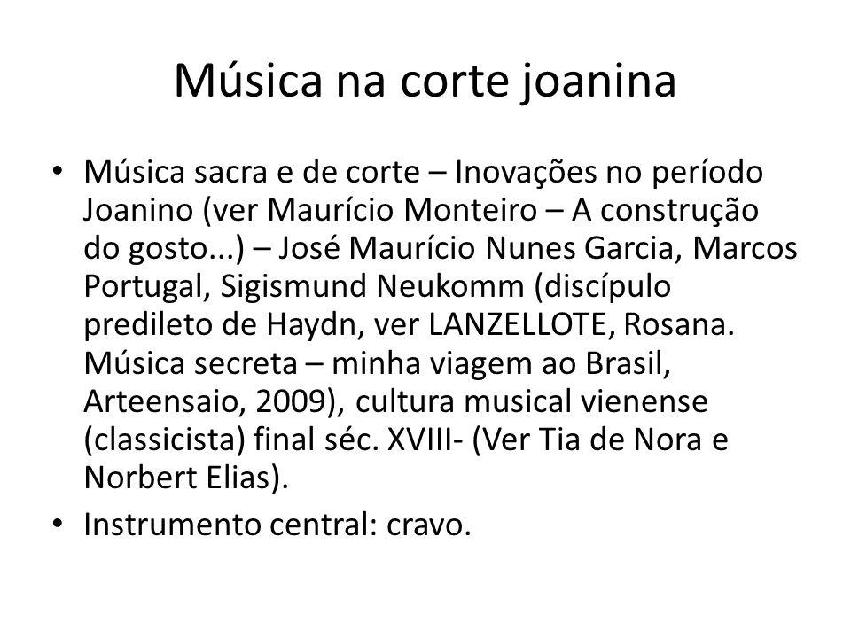Música na corte joanina