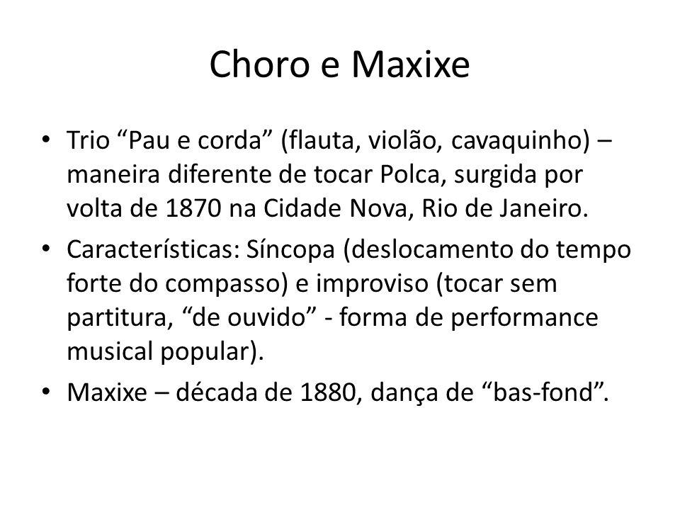 Choro e Maxixe