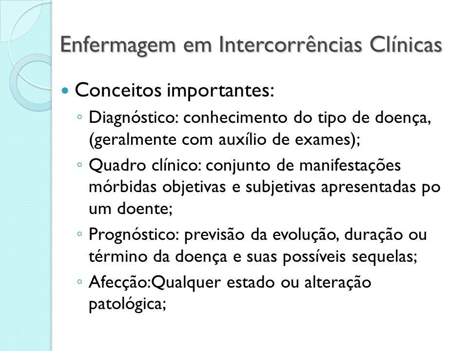 Enfermagem em Intercorrências Clínicas