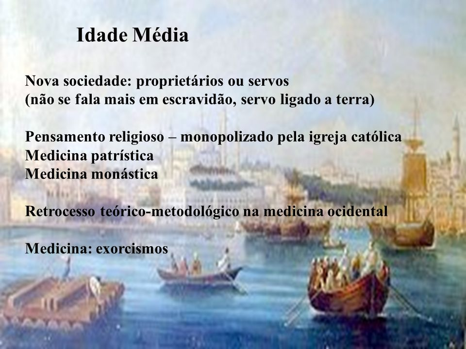 Idade Média Nova sociedade: proprietários ou servos
