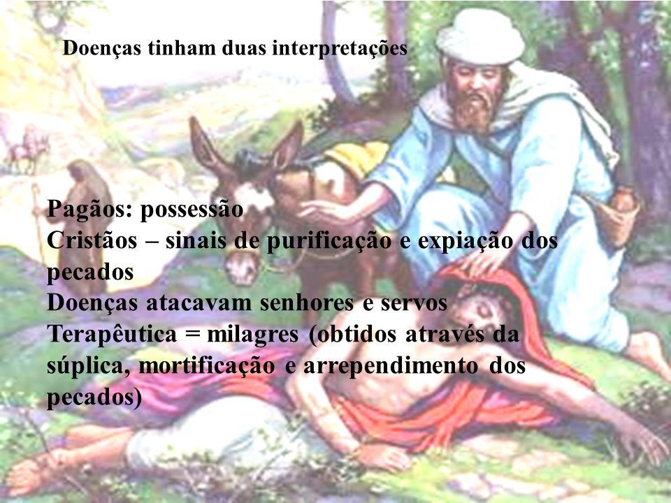 Cristãos – sinais de purificação e expiação dos pecados