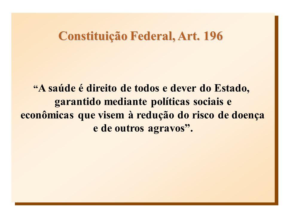 Constituição Federal, Art. 196