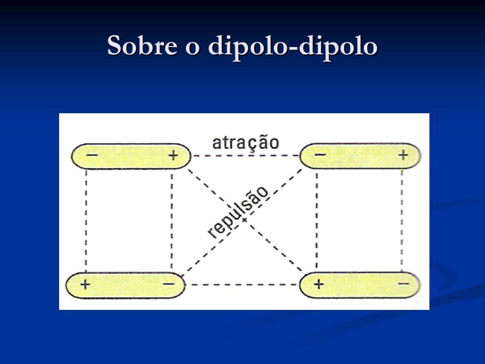 Sobre o dipolo-dipolo