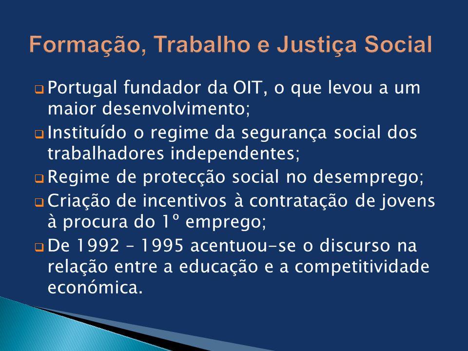 Formação, Trabalho e Justiça Social