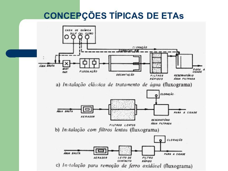 CONCEPÇÕES TÍPICAS DE ETAs