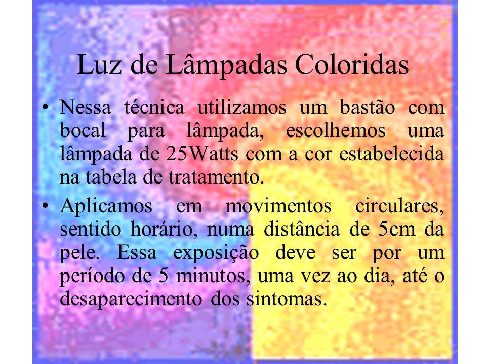 Luz de Lâmpadas Coloridas