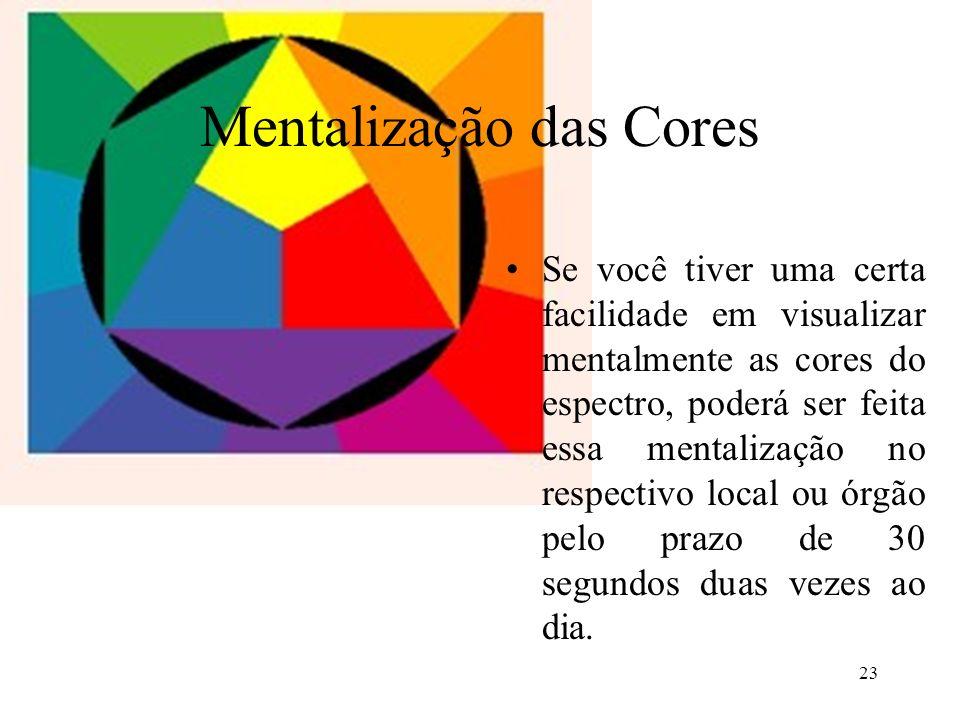 Mentalização das Cores