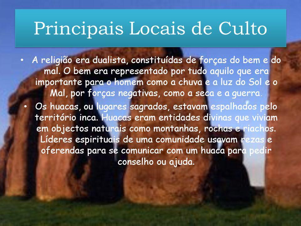 Principais Locais de Culto