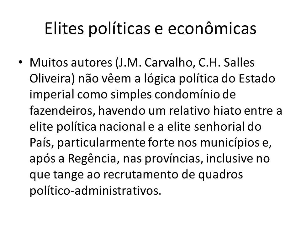 Elites políticas e econômicas