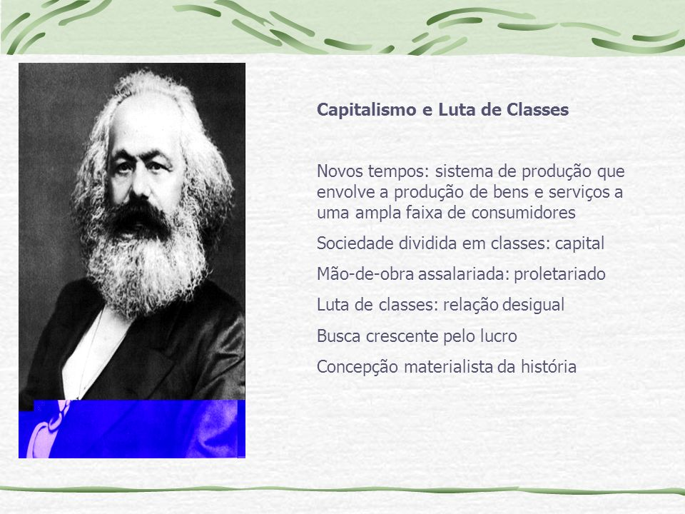 Capitalismo e Luta de Classes
