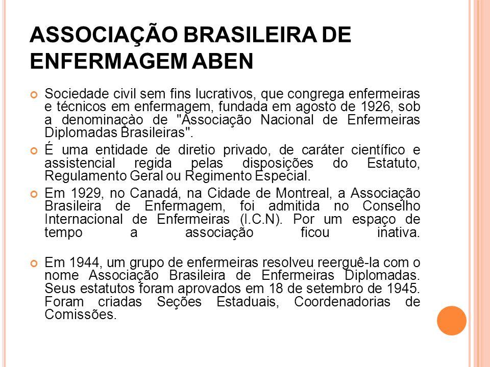 ASSOCIAÇÃO BRASILEIRA DE ENFERMAGEM ABEN