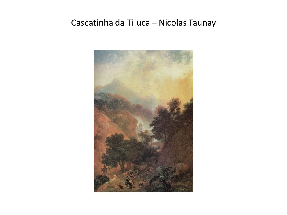Cascatinha da Tijuca – Nicolas Taunay