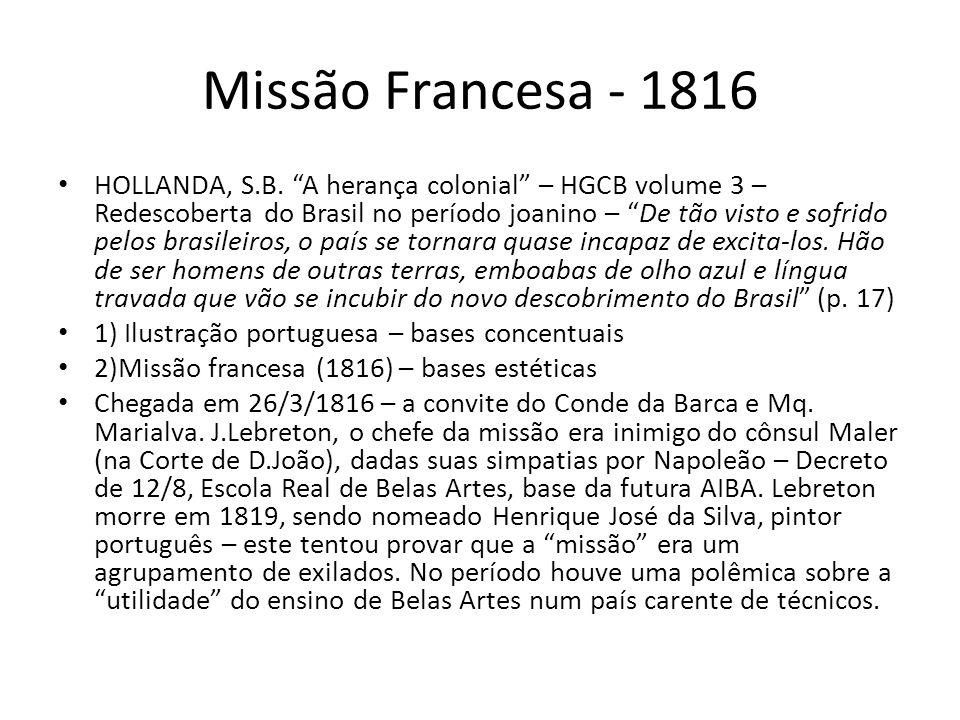 Missão Francesa - 1816