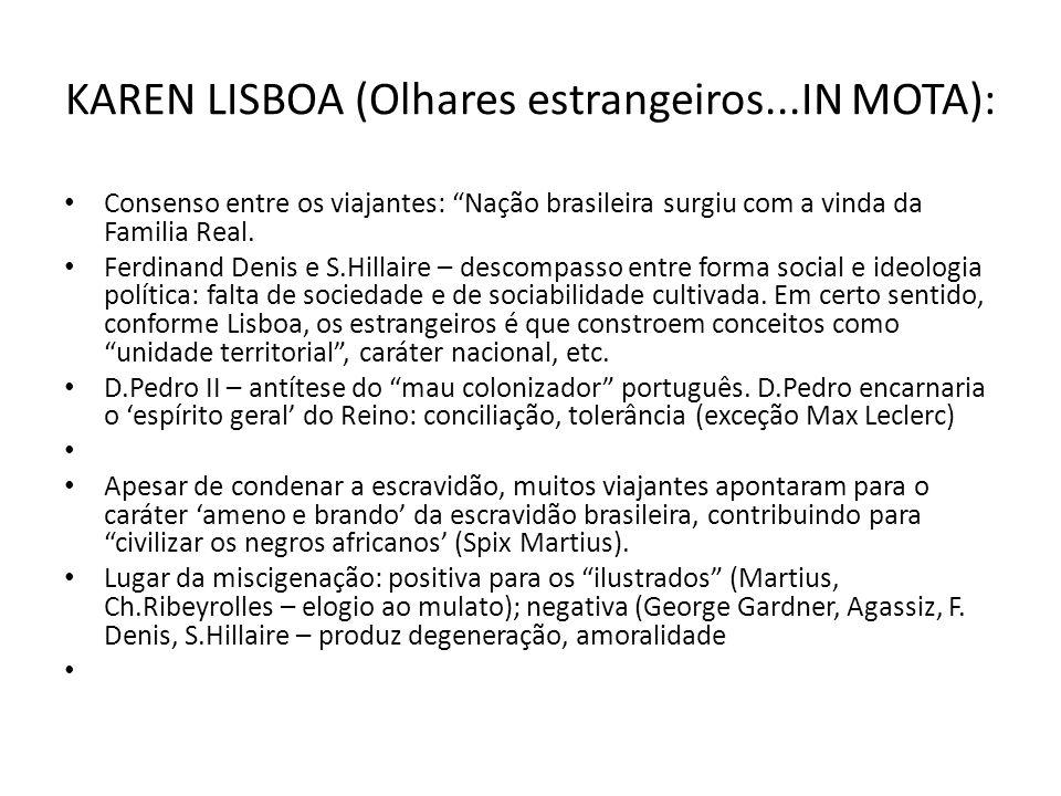 KAREN LISBOA (Olhares estrangeiros...IN MOTA):