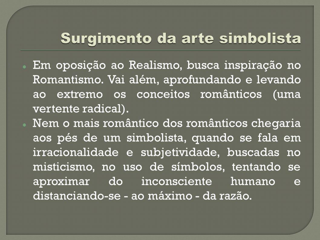 Surgimento da arte simbolista