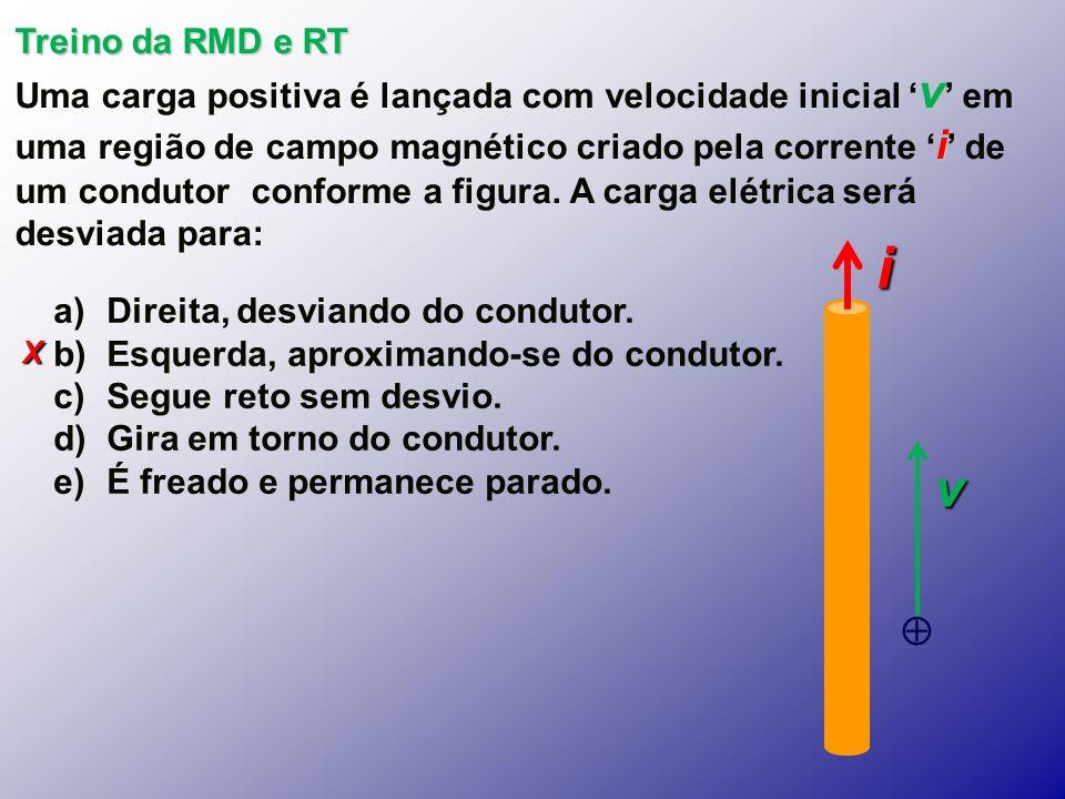 Treino da RMD e RT