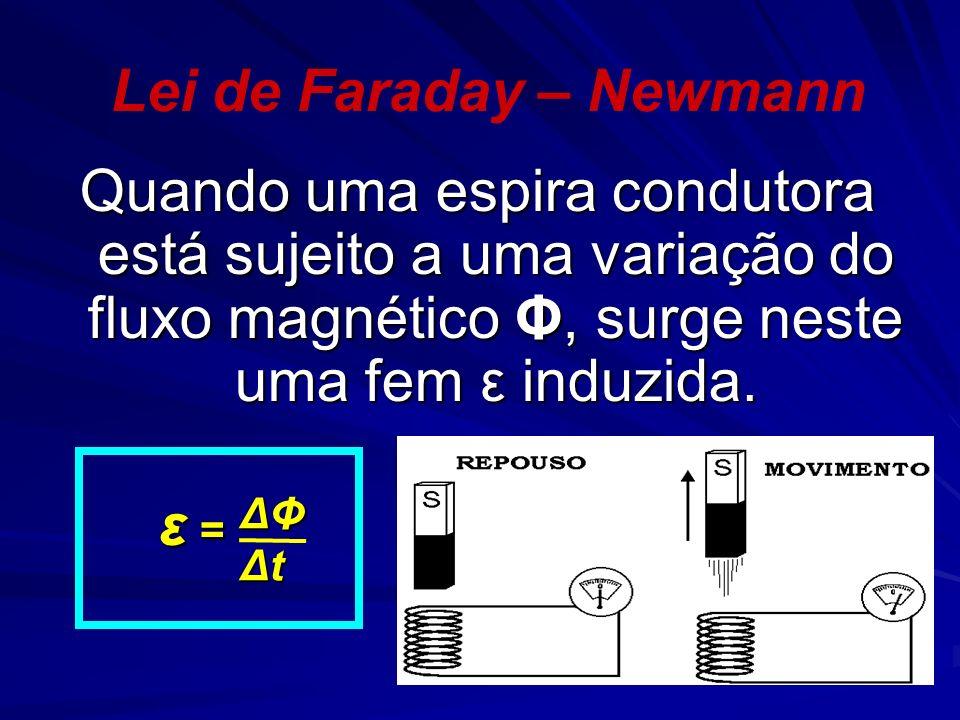 Lei de Faraday – Newmann