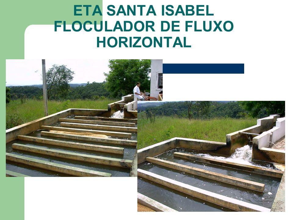 ETA SANTA ISABEL FLOCULADOR DE FLUXO HORIZONTAL