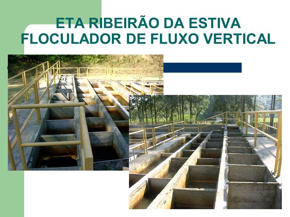 ETA RIBEIRÃO DA ESTIVA FLOCULADOR DE FLUXO VERTICAL