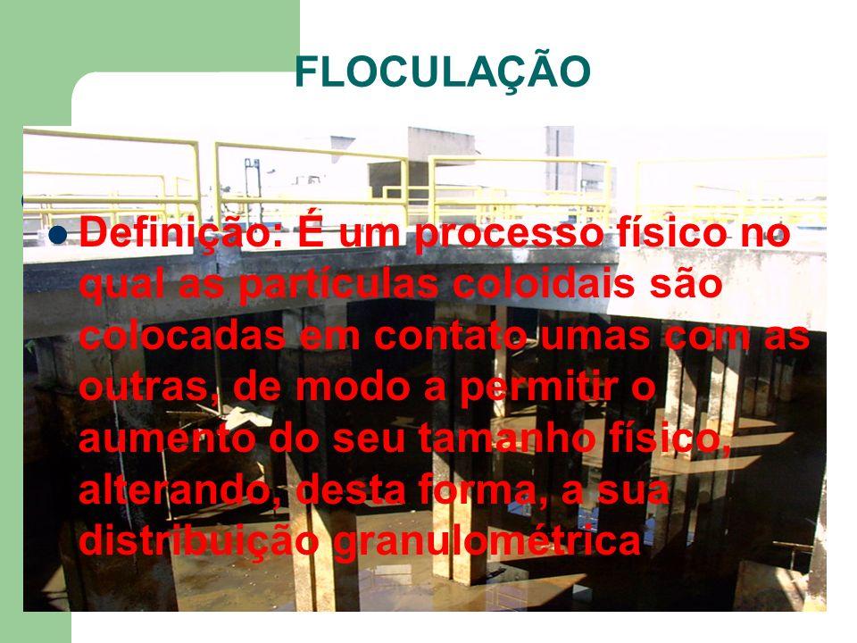 FLOCULAÇÃO