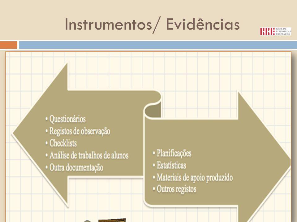Instrumentos/ Evidências