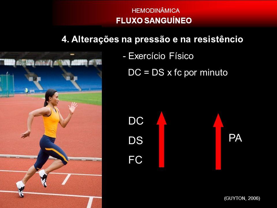 DC DS FC PA 4. Alterações na pressão e na resistêncio