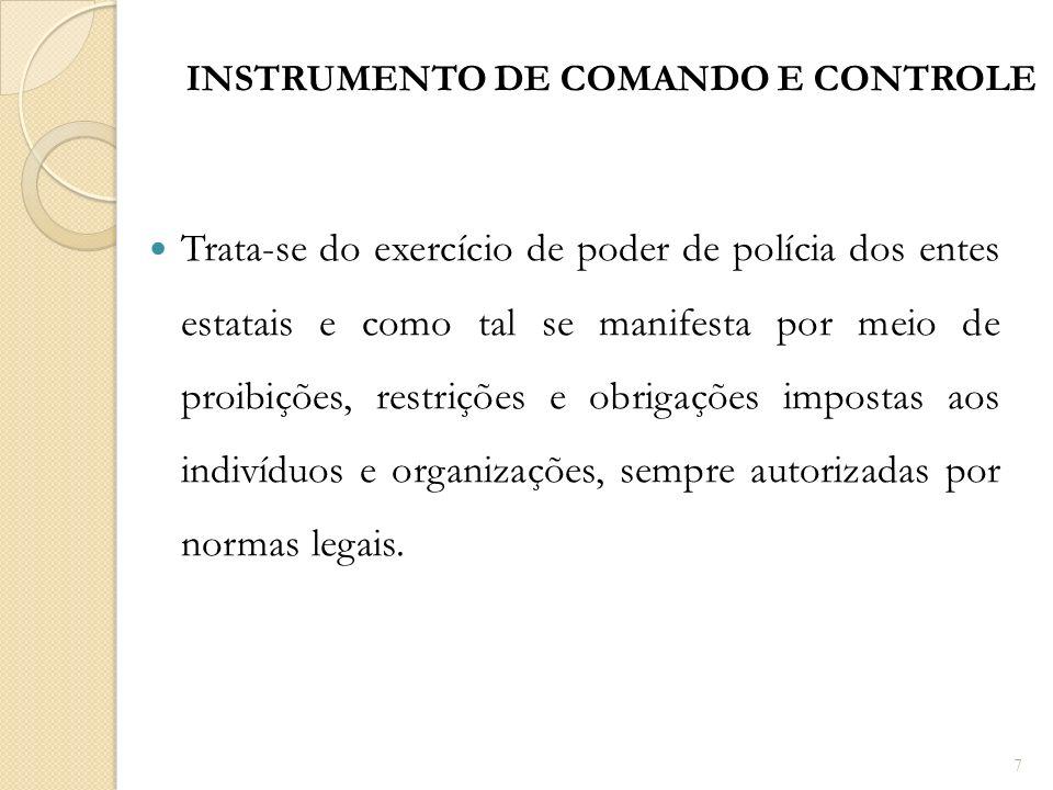 INSTRUMENTO DE COMANDO E CONTROLE