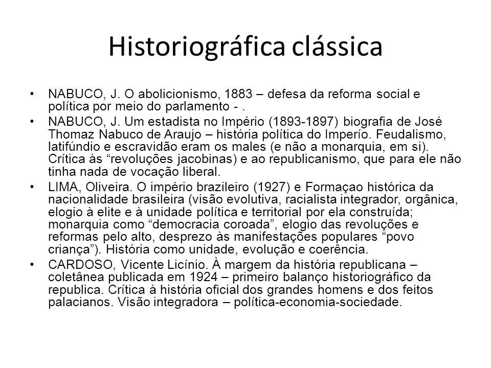Historiográfica clássica