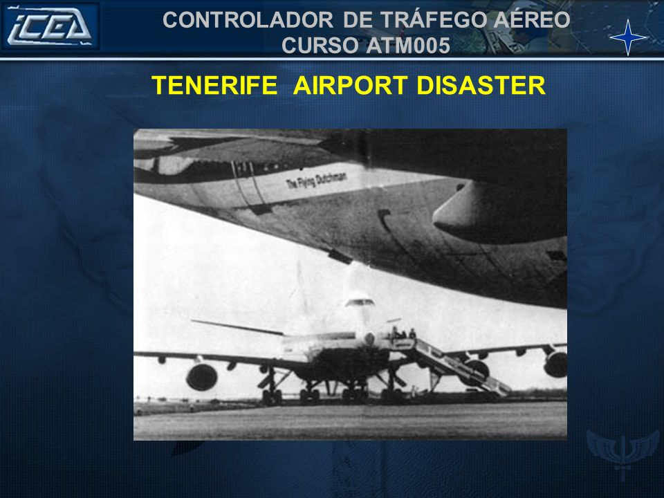 TENERIFE AIRPORT DISASTER