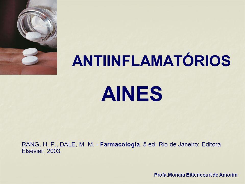AINES ANTIINFLAMATÓRIOS