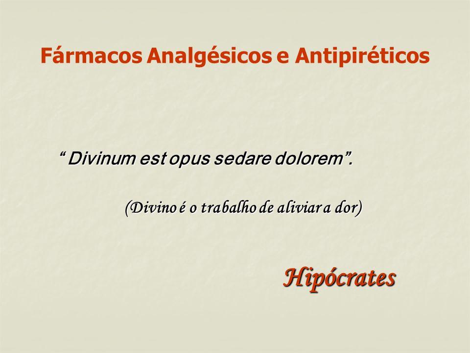 Fármacos Analgésicos e Antipiréticos