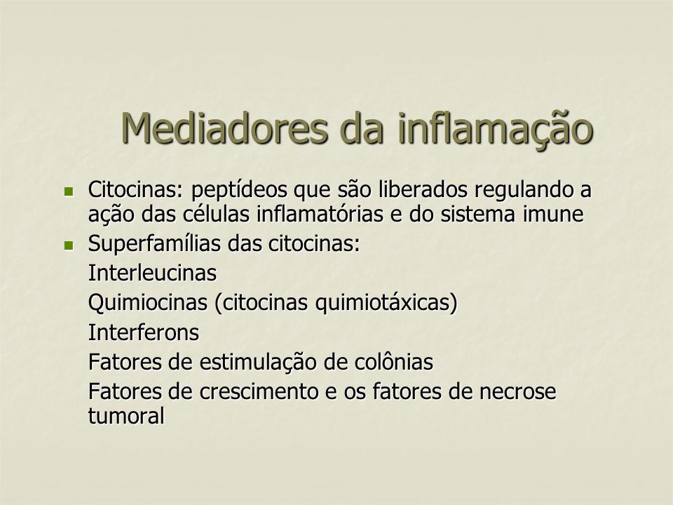 Mediadores da inflamação