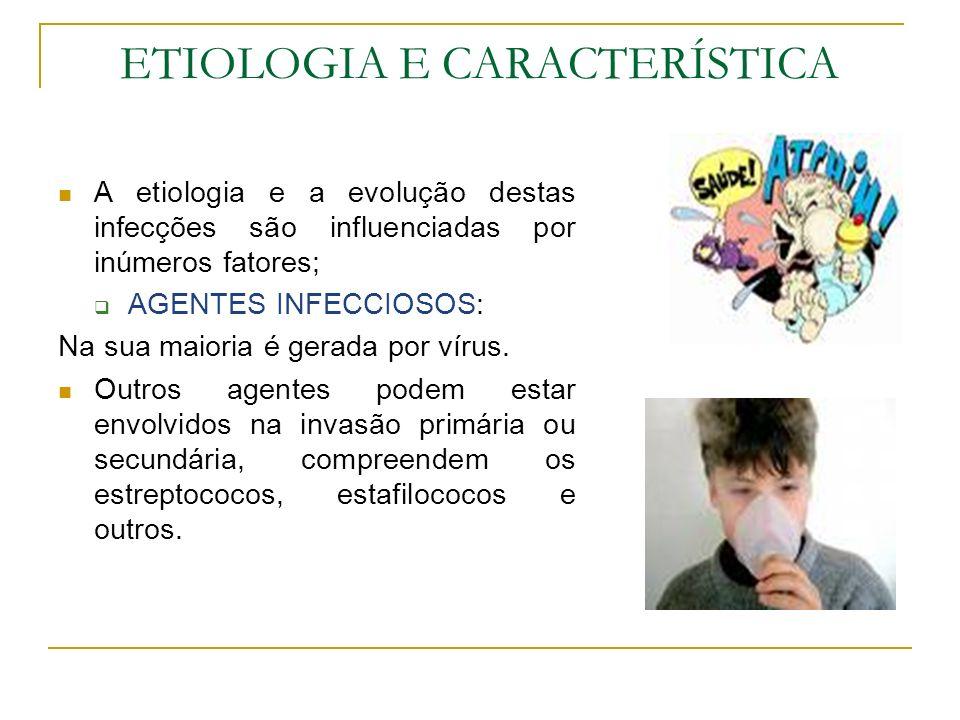 ETIOLOGIA E CARACTERÍSTICA
