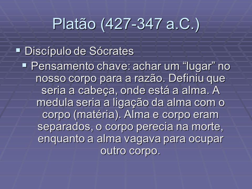 Platão (427-347 a.C.) Discípulo de Sócrates