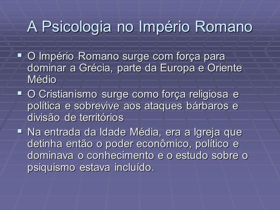 A Psicologia no Império Romano