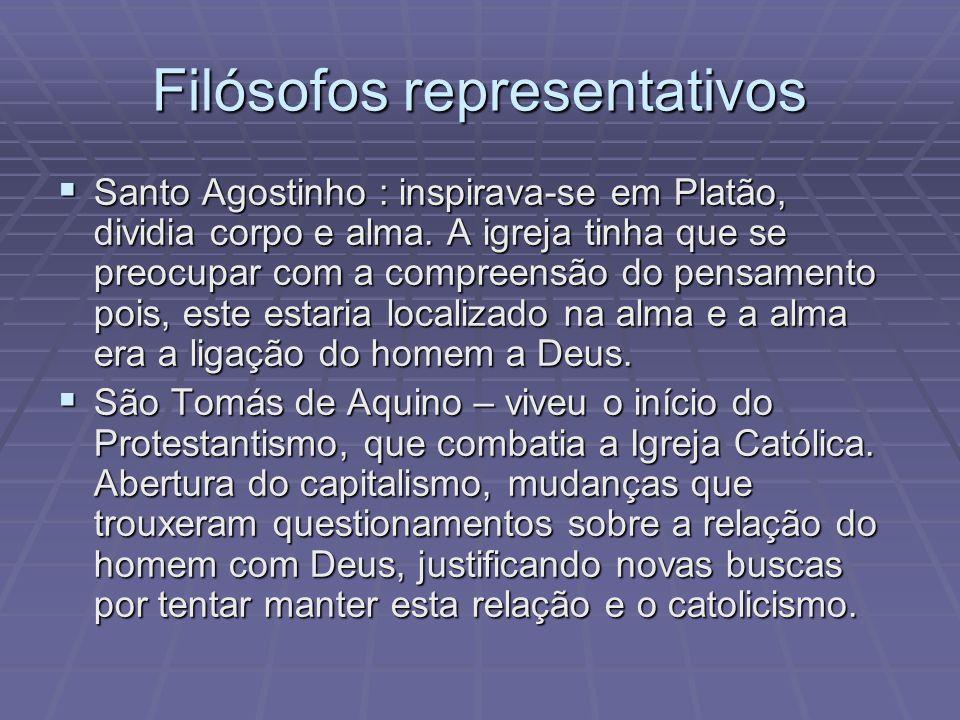 Filósofos representativos