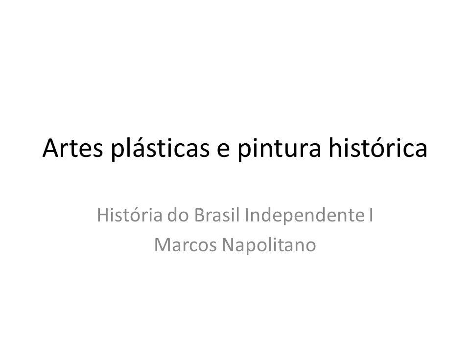 Artes plásticas e pintura histórica